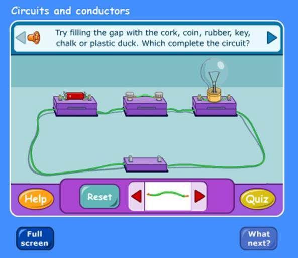 SCience Lesson - Conductors and Insulators