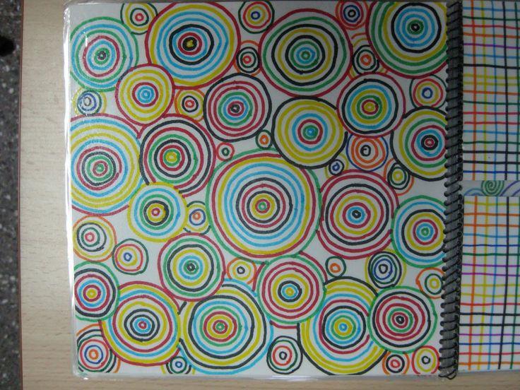 El pavelló d´Infantil: GRAFISMES