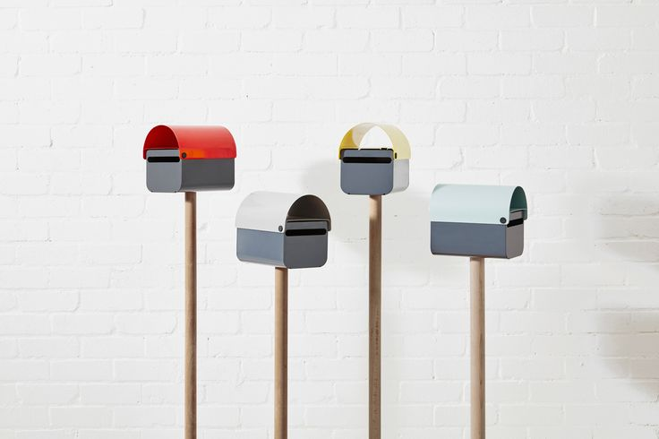 TomTom Letterbox is a modern mailbox that might have been inspired by the suburban landscape of Australia, but it wants to make your house pop.