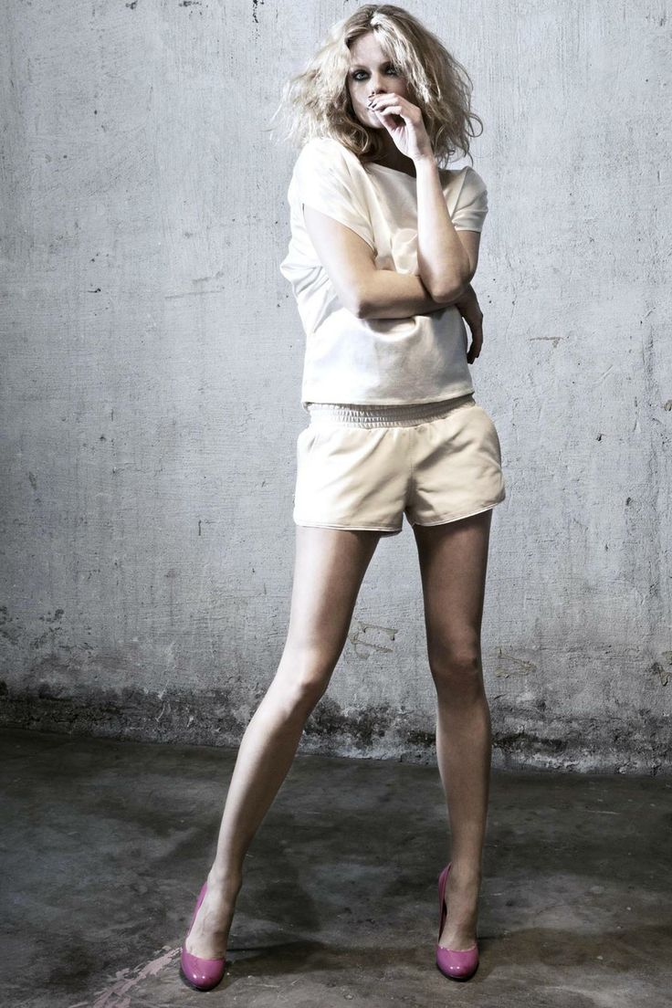 MINI LEATHER SHORTS via ylva. Click on the image to see more!
