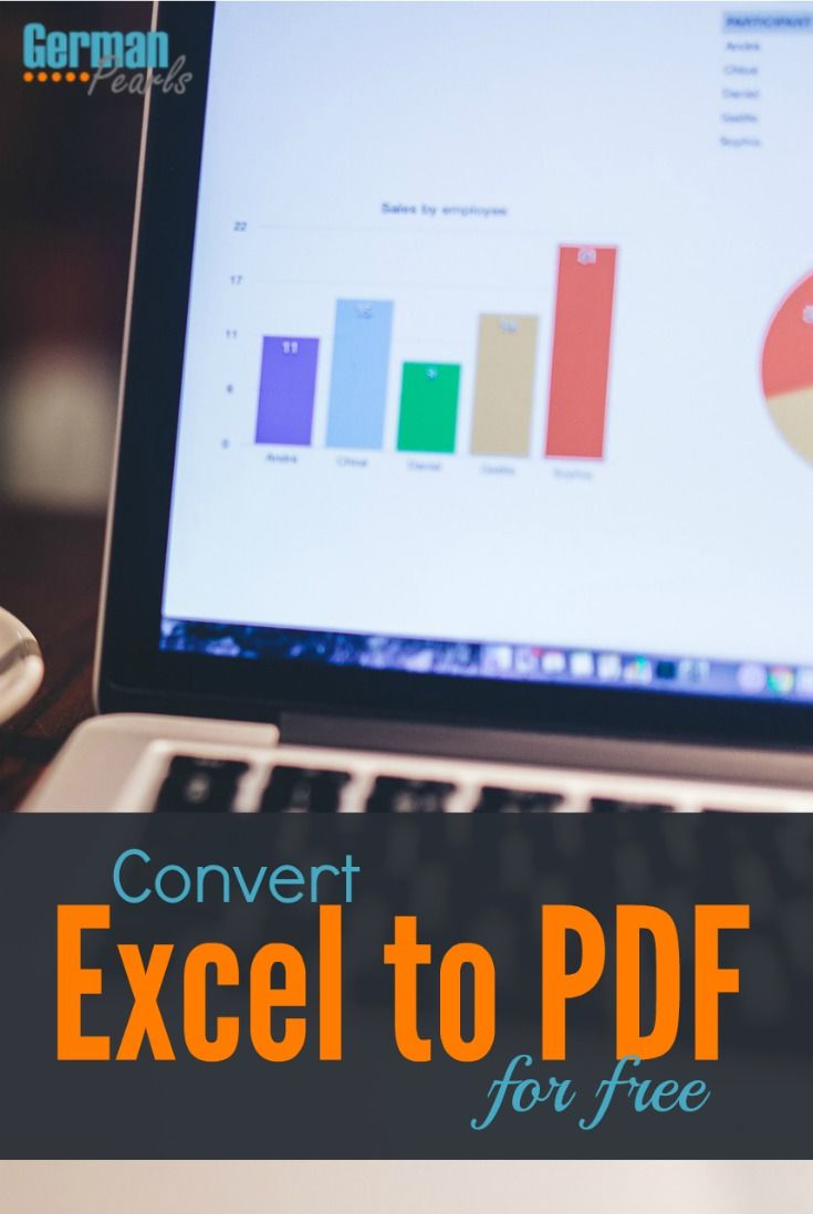 convert excel to pdf i love you