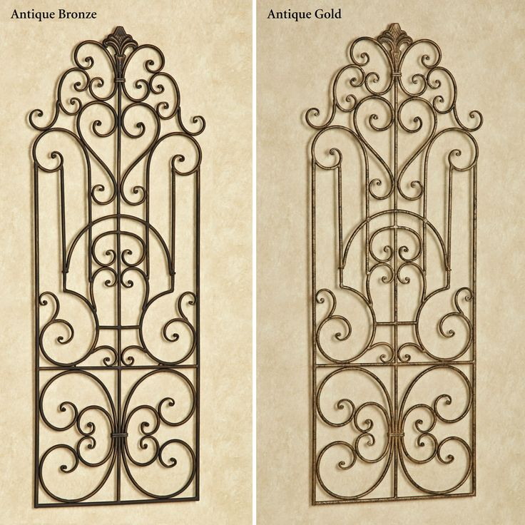Antique Wrought Iron Wall Decor Tyres2c