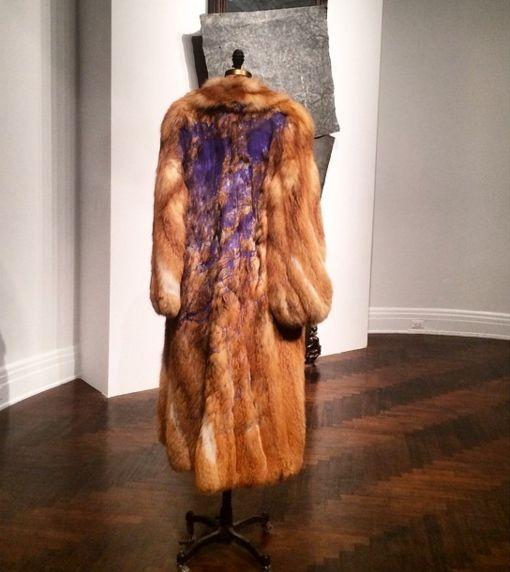 David Hammons, Fur Coat, 2007