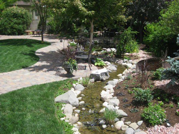 Small Backyard Stream | Gardening | Pinterest on Backyard Stream Ideas id=25572