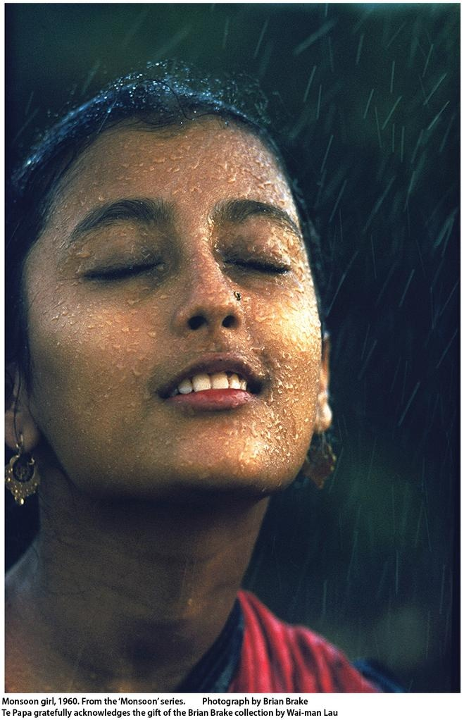 "Monsoon Girl by Brian Brake           ""feel the rain"""