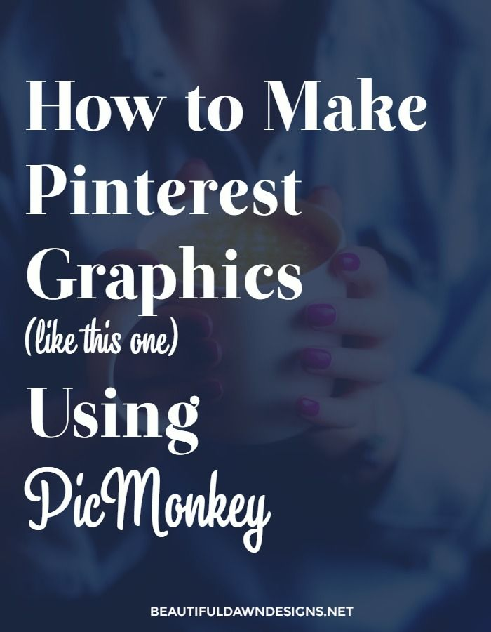 In this in depth tutorial, I'll show you how to create your own pins using the free photo editing tool PicMonkey.