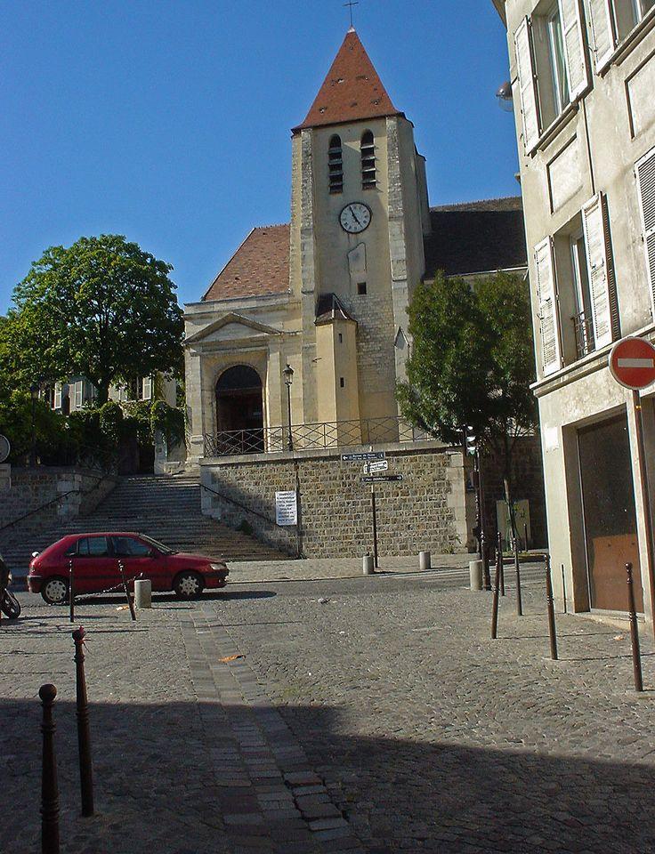 visite du vieux village Charonne avec son église et son cimetière en passant par les intérieurs rococo du pavillon de l'Ermitage. http://visite-guidee-paris.fr