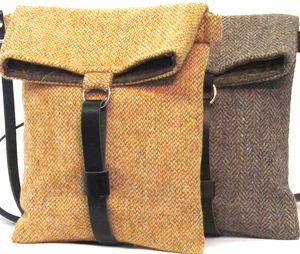 Catherine Aitken cute harris tweed bags.
