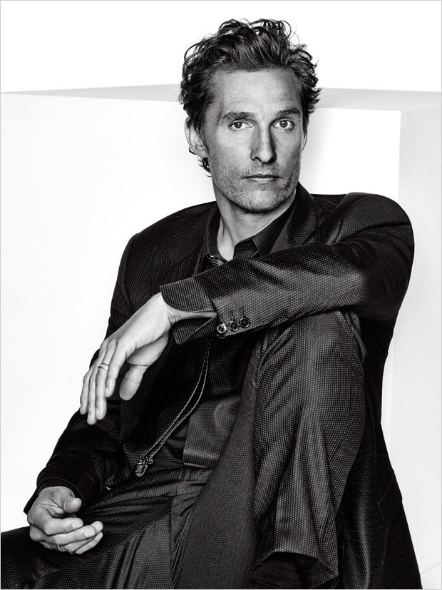 Matthew McConaughey - L'Optimum Magazine's December 2014/January 2015 Photographed by Eric Ray Davidson.