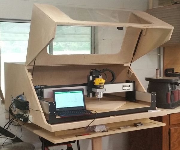 SO3: XXL Mega-Enclosure and Dust Collection - Shapeoko - Carbide 3D Community Site