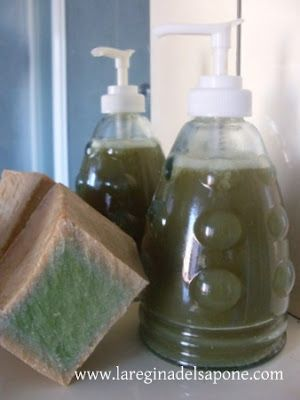 La Regina del Sapone: sapone di Aleppo liquido