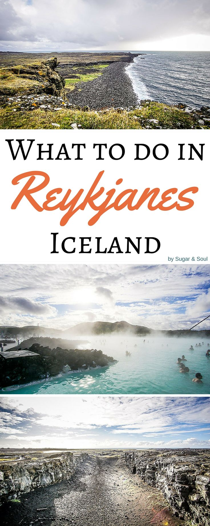 There's so much more to the Reykjanes Peninsula in Iceland than the Blue Lagoon! While the geothermal waters are definitely a MUST, don't forget to visit the quaint little fishing villages, dramatic sea cliffs, and the bridge between continents and so much more!
