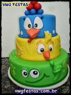 mesa de aniversário galinha pintadinha - Pesquisa Google