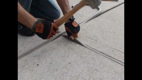 How To Repair Seal Expansion Joints In Concrete Expansion Joint The Expanse Repair
