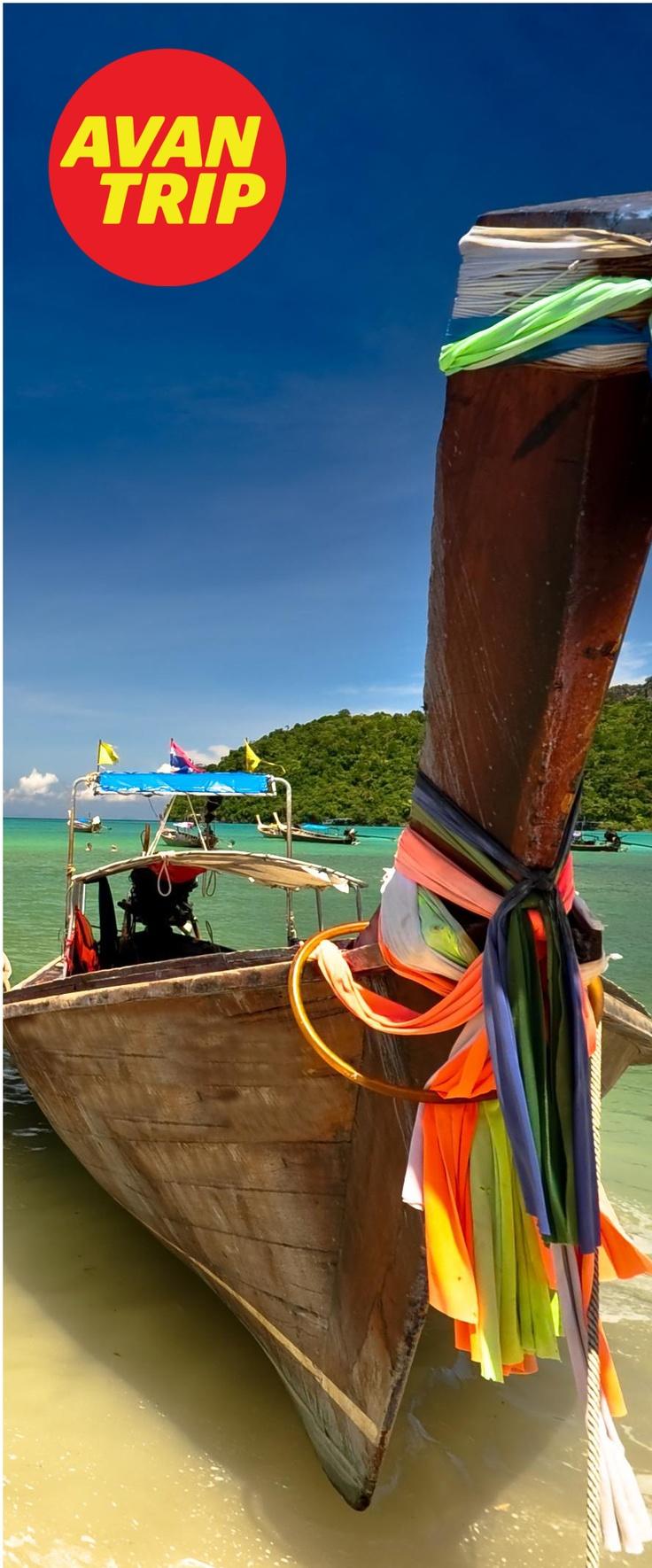 Adivinanza: ¿En qué país sacamos esta foto? La isla se hizo muy popular gracias a una película donde actua Leonardo Di Caprio, ¿sabés cómo se llama? - Contestá con #AvantripQuizViajero - Mucha Suerte! ----- Respuesta: #Tailandia #KoPhiPhi #Thailand