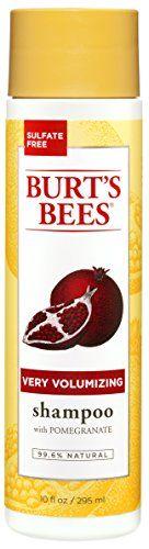Burt's Bees Very Volumizing Shampoo Pomegranate Scent 10 Ounces