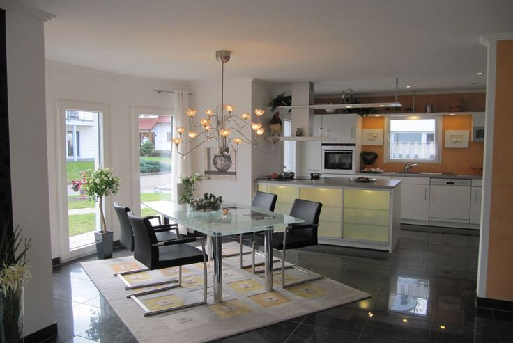 Musterhaus inneneinrichtung küche  Musterhaus Sunrise - RENSCH-HAUS GMBH | ❤Housebuilding ...
