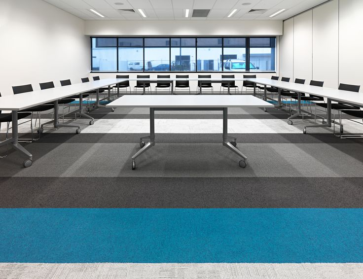 WEB chairs & FLEX folding tables by Burgtec (Aveling Training Centre fit-out)