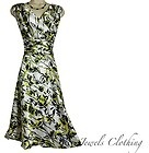20 2X (UK 22-24) SEXY Womens Easter Dress Wedding Party Spring Summer PLUS SIZE