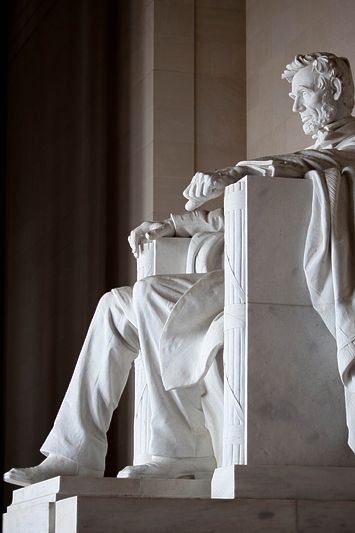 Abraham Lincoln Memorial, Washington DC - Pretty cool to see this in person. I've been there!!
