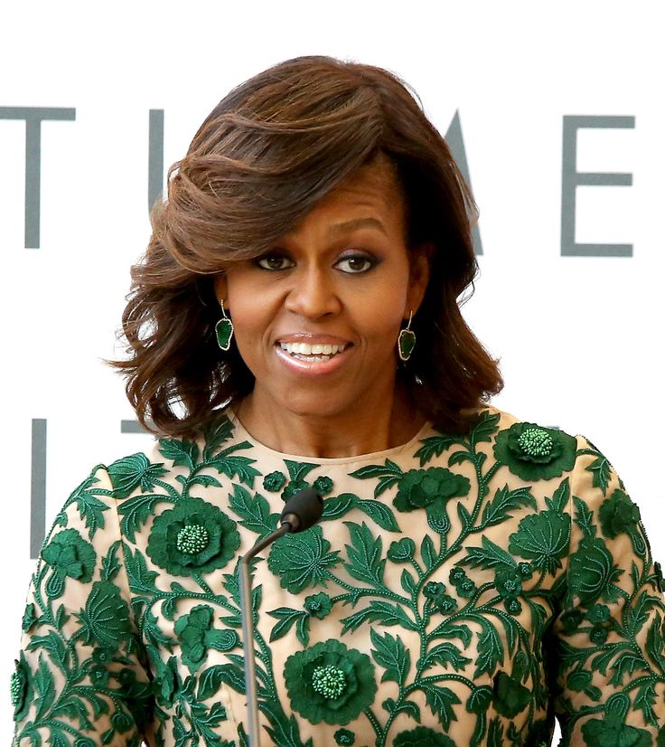 81 best hair styles images on pinterest hair styles michelle for the grand opening of the anna wintour costume center michelle obama channeled farrah fawcett pmusecretfo Images