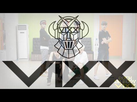 빅스(VIXX) - Rock Ur Body 안무연습영상(VIXX - Practice 'Rock Ur Body' dancing Vi...