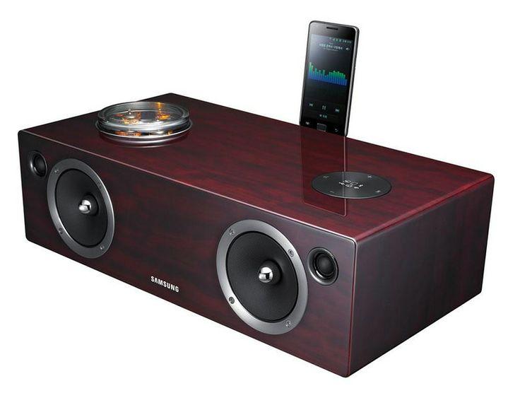 Samsung DA-E750 to bezprzewodowy system audio z hybrydową stacją dokującą