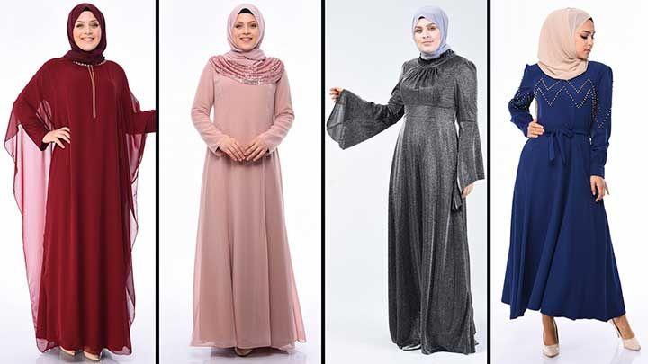2020 Sefamerve Buyuk Beden Abiye Elbise Modelleri 4 2020 Elbise Modelleri Moda Stilleri Elbise