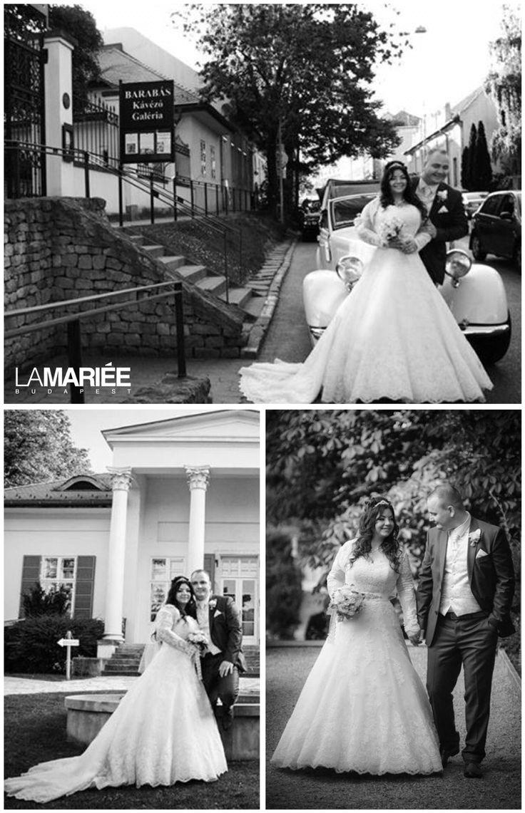 Uceda esküvői ruha - Pronovias kollekció - Zsuzsa menyasszonyunk  http://mobile.lamariee.hu/eskuvoi-ruha/pronovias-od/uceda