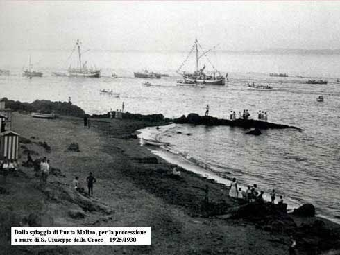 Ischia - Punta Molino beach (about 1930)