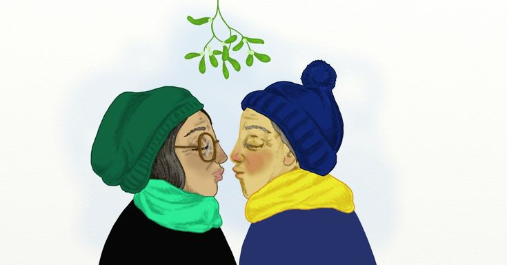 Learn The Surprisingly Unromantic Facts About Mistletoe via LittleThings.com