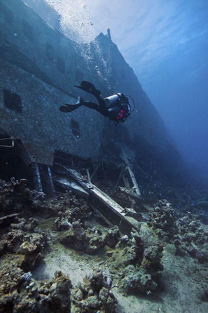 Diving...  http://divingtales.com