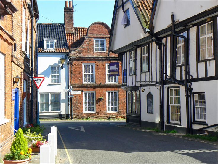 Little Walsingham Medieval Streets, Norfolk, England. In medieval times, Walsingham was one of the most important pilgrimage sites in the world and a rival even to Rome. That changed after the reformation, but a revival during the 19th century has put Walsingham back on the pilgrimage map.  More info here