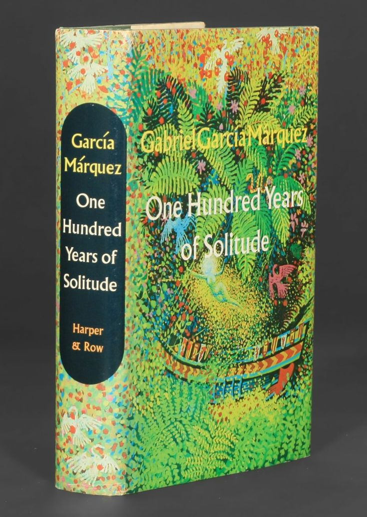 One Hundred Years of Solitude. This book is part of everyone's library in Colombia. Most families own various copies and different editions. It's a beloved object! pure magical realism.  #magicalrealism #garciamarquez