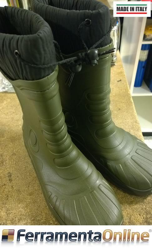Stivali RAMBO, ideali per lavori all'aperto durante la stagione invernale o per le vostre fuoriuscite in campagna