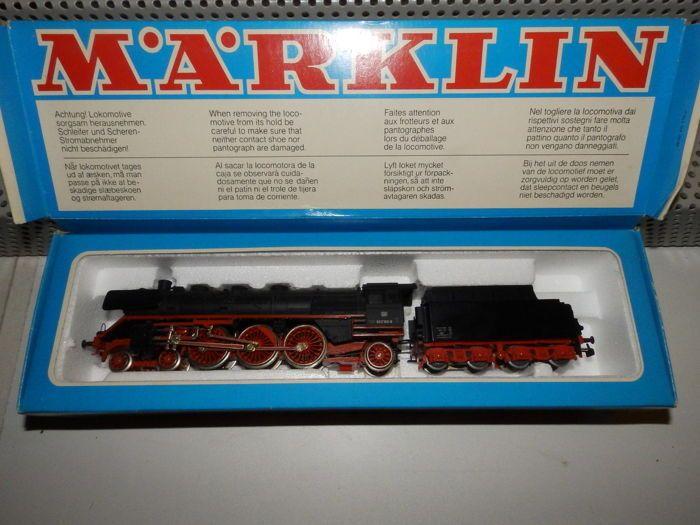 Märklin Hamo H0 - 8385 - stoom locomotief BR 003 160-9 DB  Märklin Hamo H0 - 8385 - stoom locomotief BR 003 160-9 DBMärklin Hamo H0 artikel 8385 stoom locomotief BR 003 160-9 DB DC orig. box (zie afbeelding)Mint conditie - stoomlocomotief van de Deutsche Bundesbahn - vers geolied sinds lange showcase model - test correct-Zwart gietijzer/glas - inschrijving - Adli CA > 27.7 cmDe foto's zijn onderdeel van de objectbeschrijving worden verzonden als verzekerde DHL pakket.  EUR 1.00  Meer…