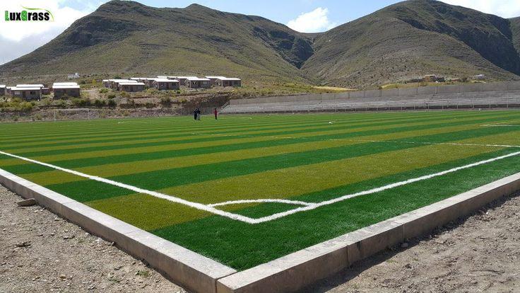 Lapangan sepak bola rumput buatan