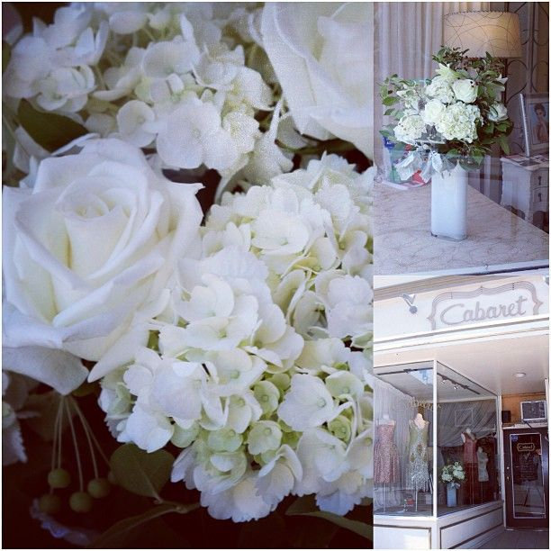 New #Flowers in our window!! Thanks #Emblem #Florist #Toronto! #love #Padgram