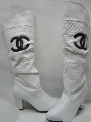 Chanel Heel Cambon Boots