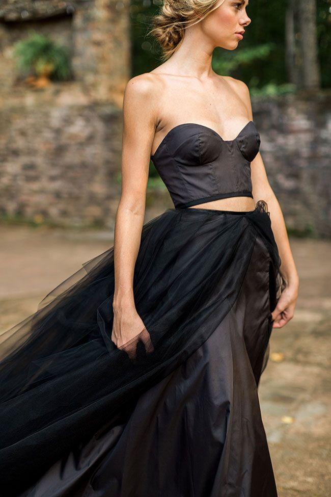 Hauntingly Perfect Gothic Chic Wedding Goddess