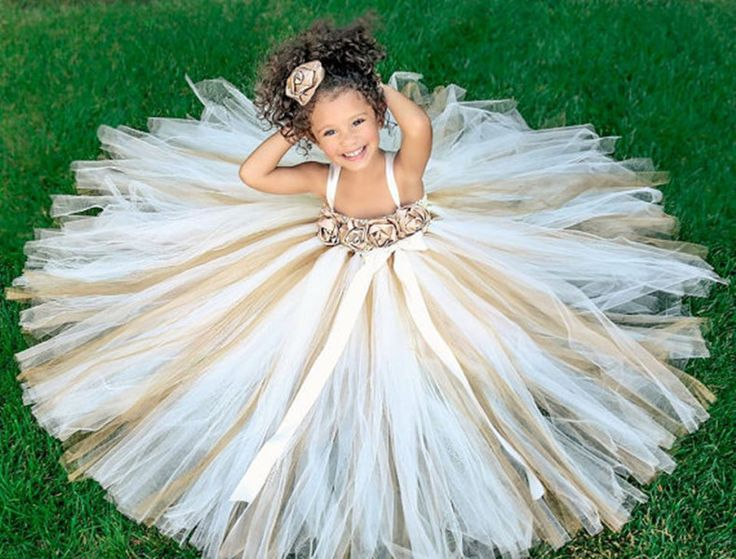 Tulle Flower Girl Dress,Flower Girl Dresses,Little Girl Bridesmaid Dresses,Girl Pageant Gowns,Wedding Party Gowns,Kids Evening Dresses,Rustic Flower Girl Dresses