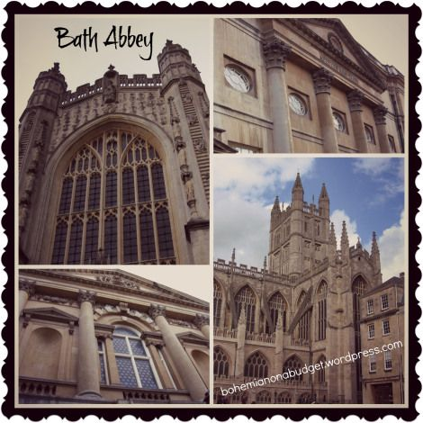 Weekend Postcard #Bath #Abbey #UK #traveler