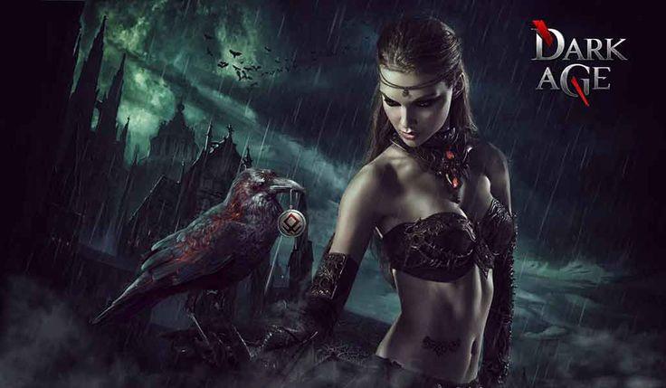 Дарк Эйдж онлайн игра про вампиров и оборотней