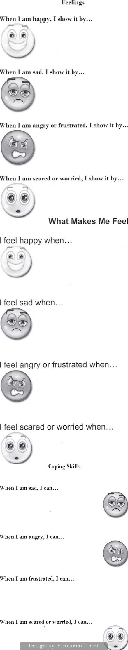 17 Best images about Emotions/Feelings Recognition on Pinterest