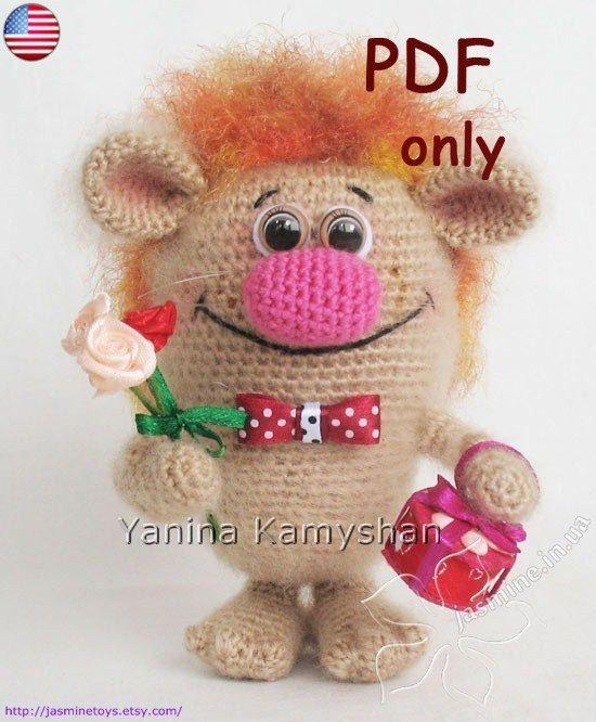 Mr. Charming amigurumi crochet pattern by jasminetoys on Etsy