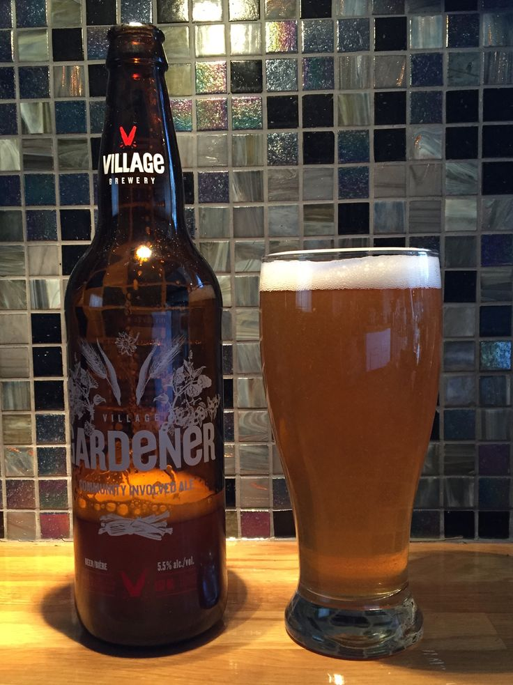 "Today, I'm drinking some beer from Village Brewery in Calgary. This one is called Gardener, and it is described as a ""Community Involved Ale."" Gardener has very much a wheat beer appearance and fla..."