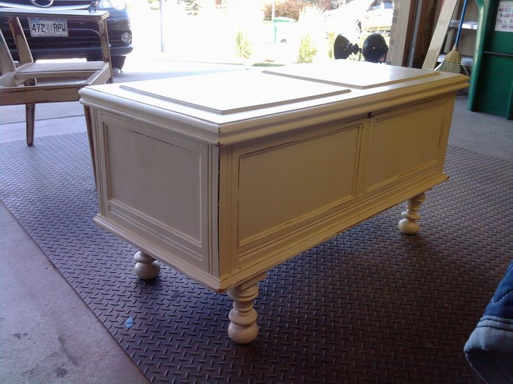 Perfect Love This...cedar Chest With Legs Added To It To Make It Into. Furniture  RedoFurniture RefinishingCustom ...
