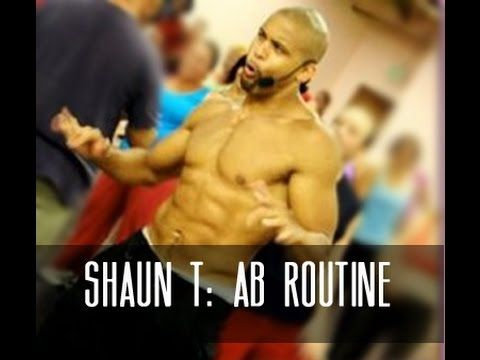 Full Shaun T Ab Routine [15 Minute] - YouTube