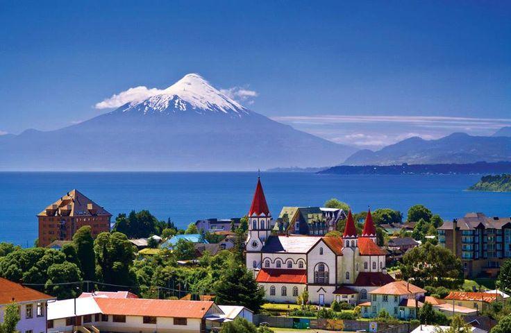 Puerto Varas. Volcán Osorno. Chile.