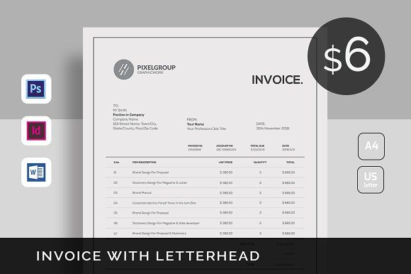 Invoice by UX-group on @creativemarket